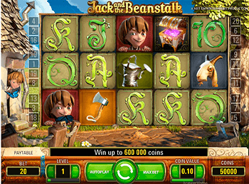 Скриншот Jack And The Beanstalk